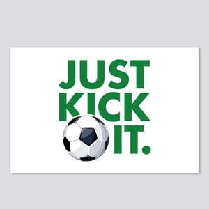 JUST KICK IT. Postcards (Package of 8)