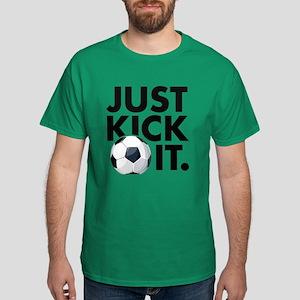 JUST KICK IT. Dark T-Shirt