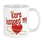 Kara Lassoed My Heart Mug