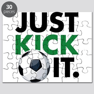 JUST KICK IT. Puzzle