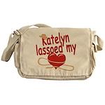 Katelyn Lassoed My Heart Messenger Bag
