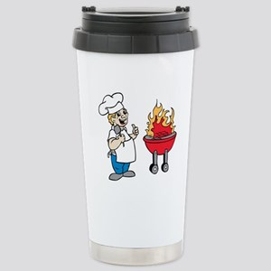 Memorial Day Barbecue Stainless Steel Travel Mug