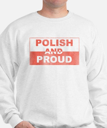 Polish and Proud-III Sweatshirt