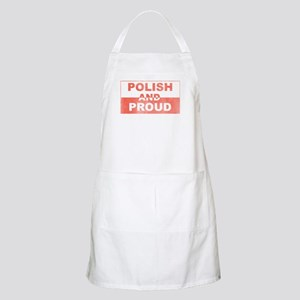 Polish and Proud-III BBQ Apron