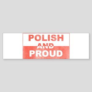 Polish and Proud-III Bumper Sticker
