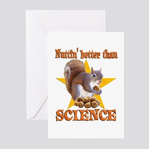 Science Squirrel Greeting Cards (Pk of 20)