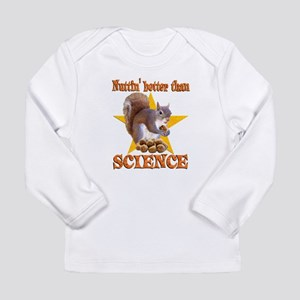 Science Squirrel Long Sleeve Infant T-Shirt