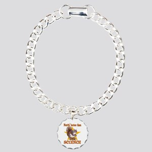 Science Squirrel Charm Bracelet, One Charm