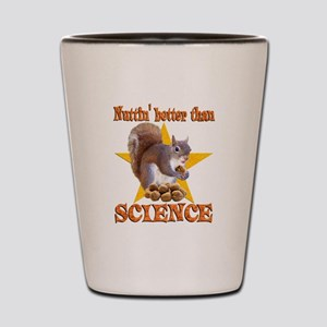 Science Squirrel Shot Glass