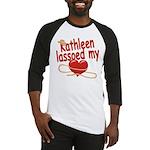 Kathleen Lassoed My Heart Baseball Jersey