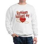 Kathleen Lassoed My Heart Sweatshirt