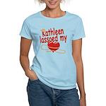 Kathleen Lassoed My Heart Women's Light T-Shirt
