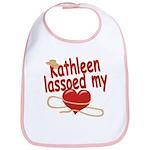 Kathleen Lassoed My Heart Bib