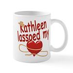 Kathleen Lassoed My Heart Mug