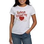 Kathryn Lassoed My Heart Women's T-Shirt