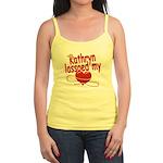 Kathryn Lassoed My Heart Jr. Spaghetti Tank
