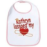 Kathryn Lassoed My Heart Bib