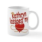 Kathryn Lassoed My Heart Mug