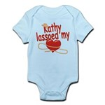 Kathy Lassoed My Heart Infant Bodysuit
