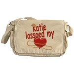 Katie Lassoed My Heart Messenger Bag