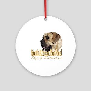 Boerboel Dog of Distinction Ornament (Round)