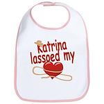 Katrina Lassoed My Heart Bib