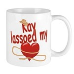 Kay Lassoed My Heart Mug