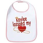 Kaylee Lassoed My Heart Bib