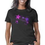 swirl glitter stars Women's Classic T-Shirt