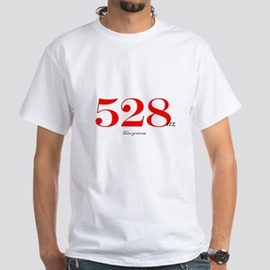 528 Miracle Frequency White T-Shirt
