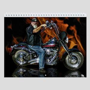 Motorcycle Wall Calendar