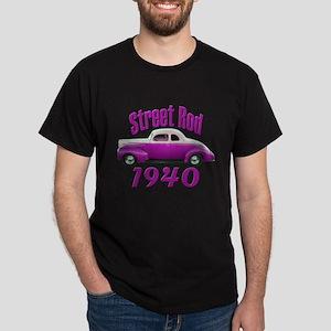 1940 Ford Deluxe Street Rod T Dark T-Shirt