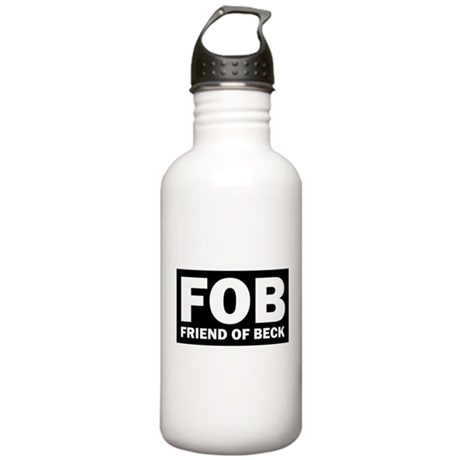Glenn Beck FOB Friend Of Beck Stainless Water Bott