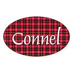 Tartan - Connel Sticker (Oval 10 pk)