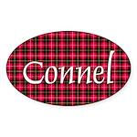 Tartan - Connel Sticker (Oval 50 pk)