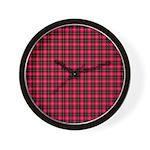 Tartan - Connel Wall Clock