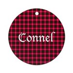 Tartan - Connel Ornament (Round)