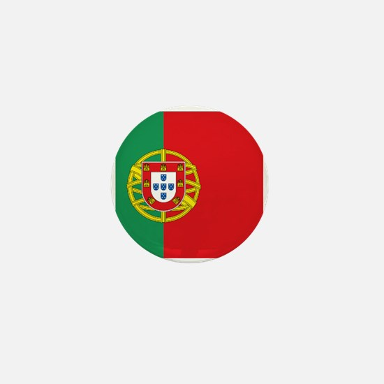 Portuguese flag Mini Button