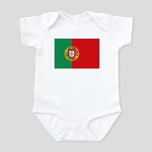 Portuguese flag Infant Bodysuit