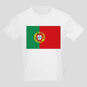 Portuguese flag Kids Light T-Shirt