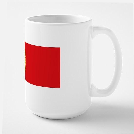 Portuguese flag Large Mug