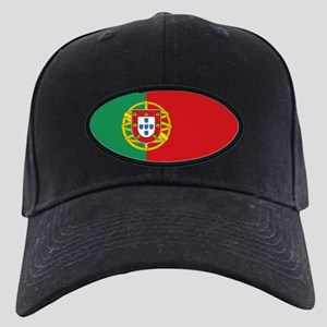 Portuguese flag Black Cap