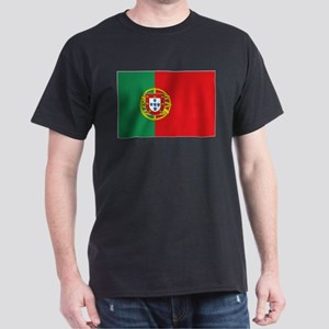 Portuguese flag Dark T-Shirt
