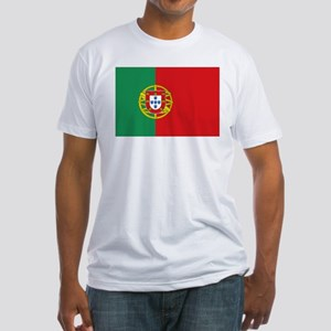 Portuguese flag Fitted T-Shirt