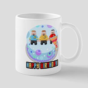 Star Trek Birthday Cake Mugs
