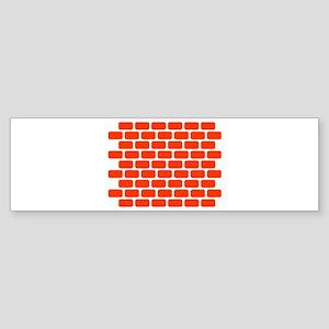Brick wall Sticker (Bumper)