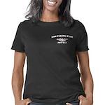 ffish white letters Women's Classic T-Shirt