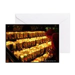 Velas/candles Greeting Cards (Pk of 10)