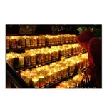 Velas/candles Postcards (Package of 8)