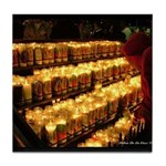 Velas/candles Tile Coaster
